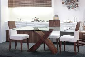 Glass Top Modern Dining Tables For Trendy Homes Contemporary - Table dining room