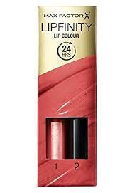 Lipfinity Colour Chart Max Factor Lipfinity Current 25 Shade Range Amazon Co Uk