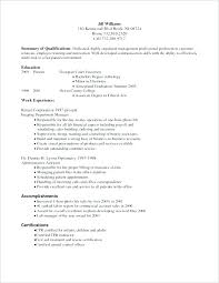 Associate Degree Resume Sample | Dm-Investment.pro