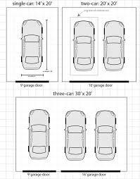 2 car garage door dimensionsAverage 2 Car Garage Dimensions Gallery Of Car Garage Size And