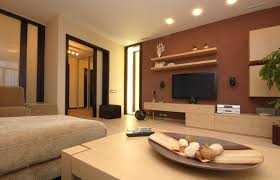Paint Designs For Living Rooms Astounding Soft Brown Living Room Paint Ideas With Oak Cocktail