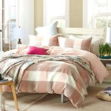 grey checd duvet cover plaid teen duvet cover sets for single or double bed 100 cotton