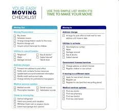 Moving Checklist And Scheduling Template For Microsoft Excel