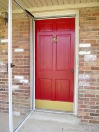 how to paint your front doorMetal Storm Door  Home Design