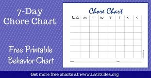 behavior charts for 7 year old free printable behavior charts for home and school acn latitudes