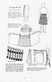 Utility Kilt Sewing Pattern