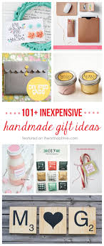 101 inexpensive handmade gifts on iheartnaptime com