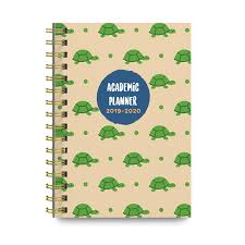College Planners 2020 Turtles 2019 2020 Academic Monthly And Weekly Planner Cute