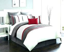 brown and white bedding red comforter sets black dark set king blue black and red comforter
