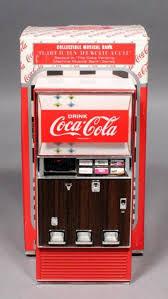 Original Coke Vending Machine Interesting CocaCola Coke Diecast Metal Collectible Musical Vending Machine