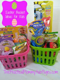 easter baskets for toddlers and babies sugarless alternatives fruit basket ideas t17