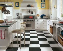 ... Smartness Inspiration Black And White Floor Tile Kitchen 18 Black And  White Tile Flooring Home Tiles ...