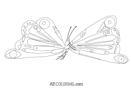 Caterpillar Coloring Page Hungry Caterpillar Coloring Page Very