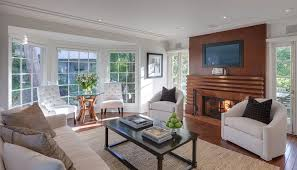 family room ideas with tv. family room ideas traditional with teak fireplace suround framed tv inset