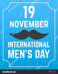 International Mens Day Poster Black ...
