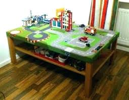 childrens activity table wooden