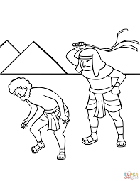 Baby Moses Coloring Page Saglikme