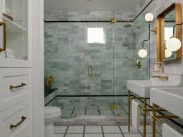 bathroom home design. art deco-inspired master bathroom with contemporary edge home design