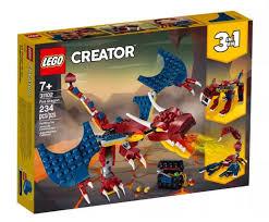 "<b>Конструктор LEGO Creator</b> 31102 ""<b>Огненный</b> дракон"", 234 детали ..."