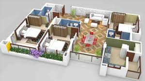 bhk 3bhk home design plans indian style 3d d ashinfo more bedroom