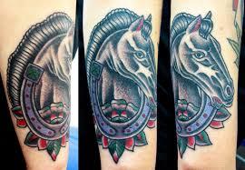 Tetování Kůň S Podkovou Tetování Tattoo