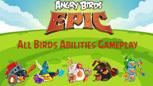 Angry Birds Epic - All Birds Abilities Gameplay - YouTube