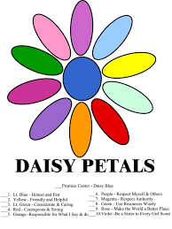 Daisy Petal Kaper Chart Whatever It Takes Girl Scout Kaper Chart