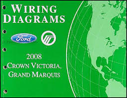 2008 crown victoria grand marquis original wiring diagram manual