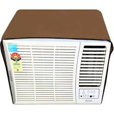 Buy Glassiano Beige Colored waterproof and dustproof window ac cover for Lloyd LW19A2P AC 1.5 Ton 2 Star Rating Online - Get 50% Off