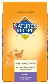 nature s recipe dry dog food