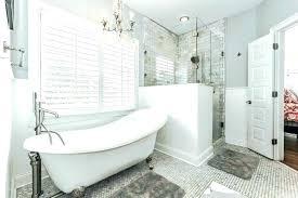 clawfoot bathtub shower tub shower curtain liner claw foot tub shower bathtub shower vintage bathroom with clawfoot bathtub shower
