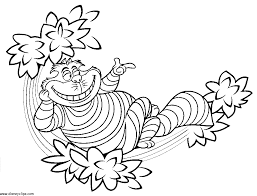 Small Picture Alice In Wonderland Coloring Pages 2 Disney Kids Games