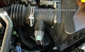part how to test the nissan sentra l maf sensor how to test the 2000 2002 nissan sentra 1 8l maf sensor