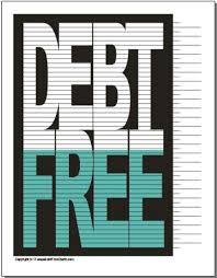 Free Printable Debt Free Charts The Original Debt Free Chart Debt Free Charts