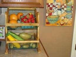 countertop fruit storage ideas two tier vegetable and fruit storage by
