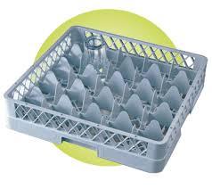 dishwasher compartment glass racks