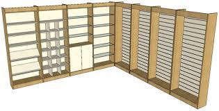 wall display shelving units