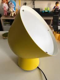 Ikea Yellow Tablefloor Lamp
