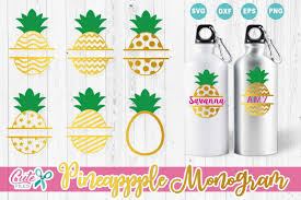 Can be used with the silhouette cutting machines, cricut, or other program/software. Pineapple Monogram Svg Files Graphic By Cute Files Creative Fabrica In 2020 Monogram Frame Summer Monogram Monogram