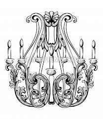 520x600 rich baroque classic chandelier luxury decors accessory design