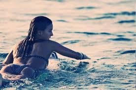 Water bikini babes wallpaper
