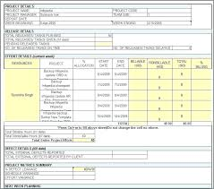 Status Report Template Excel Daily Weekly Format For Hr Activity ...
