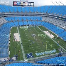 Carolina Panthers Seating Chart With Rows Panther Stadium Seat View Panthers Stadium Seat Chart