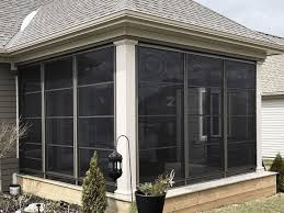 4 track stacking sunrooms windows