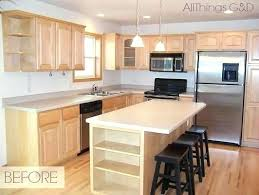 Light Maple Kitchen Cabinets Cabinet Image Of Pretty Photos