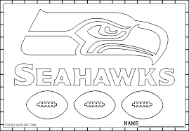 Seattle Seahawks Free Coloring Pages Books Worth Reading