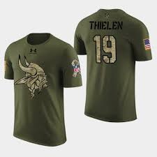To - 19 2018 Vikings Thielen Minnesota Camo Military T-shirt Men Adam Digital Service Salute|New England Patriots Lose To Detroit Lions: Game Recap, Score, Stats