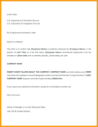 Employment Verification Letter Template Word Work Verification Letter Template