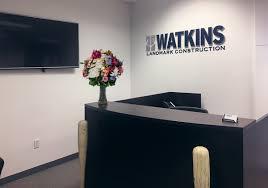 office orange. Interior Watkins Landmark Orange County Office