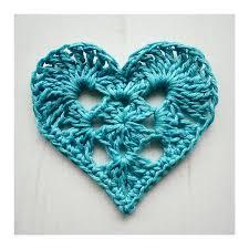 Crochet Heart Pattern Free Inspiration Ravelry Granny Heart Pattern By Crochet Tea Party